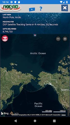 NORAD Tracks Santa screenshot 2