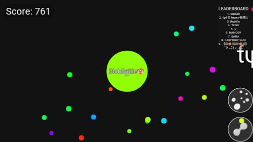 Blob Battle .io - Multiplayer Agar Action Game 1.1.2 screenshots 2