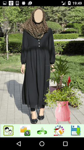 Hijab Abaya Photo Montage 1.4 screenshots 5