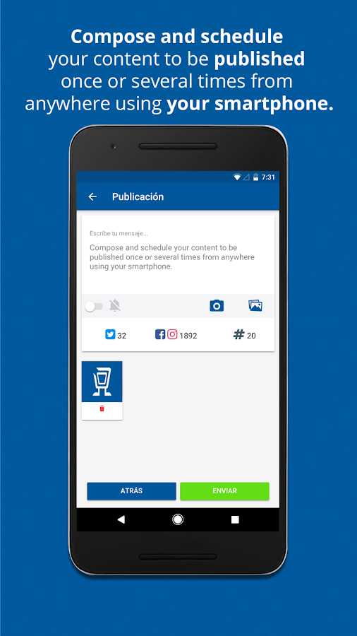 SocialGest- screenshot
