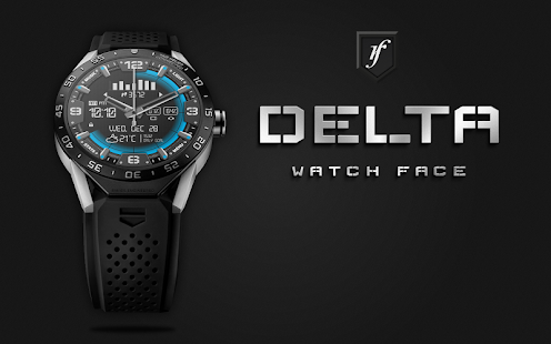 Delta Watch Face- screenshot thumbnail