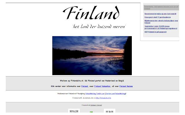 Finlandsite Nieuws