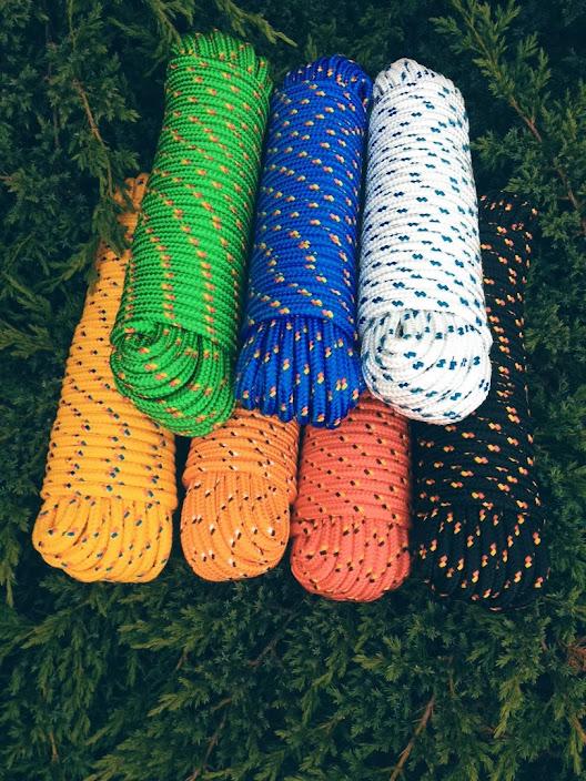 Schot Polypropylen Seil PP 4-16 mm,30m,Kordel Universal Seil,Allzweckseil,Weiß