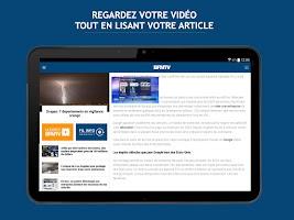 Screenshot of BFMTV : l'info en continu