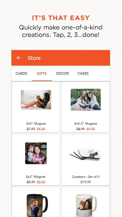 Jun 29,  · Enjoy FREE unlimited 4x6 and 4x4 prints exclusively through the Shutterfly app. Make it where you take it. Easily upload photos, order prints, and make one-of-a-kind creations in minutes!/5(K).