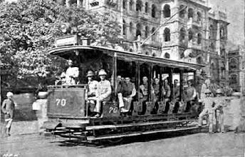 Photo: Tram in Madras