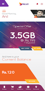 Ncell App – Free SMS, Buy Data Packs, Recharge 2