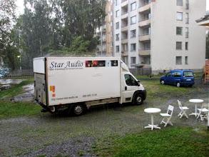 Photo: Taiteiden yön valmistelua 7.8. Förberedelser inför Konstens natt