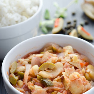 Veracruz-Style Fava Bean Stew