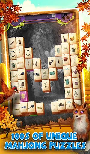 Mahjong Solitaire: Grand Autumn Harvest apkpoly screenshots 8