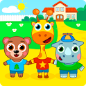 Kindergarten : animals icon