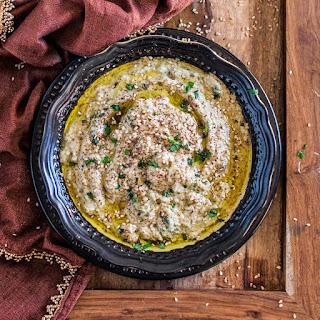 Baba Ghanoush (Roasted Eggplant Dip).