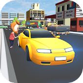 Real Car Taxi Driver : Traffic Simulator 2017 3D