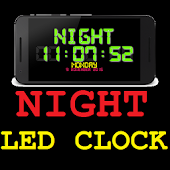 Multicolor Night LED Clock
