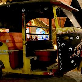 Artistic Rickshaw by Nadeem M Siddiqui - Transportation Other