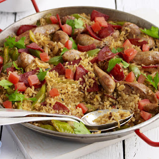 Sausage and Pepper Paella
