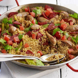 Sausage and Pepper Paella.