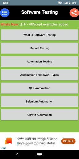 Software Testing (Automation, Manual) download 1
