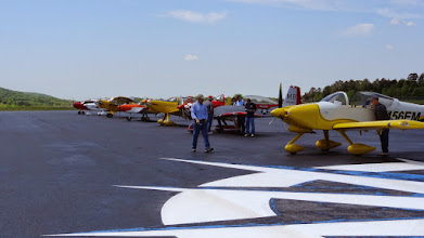 Photo: Some of the other aircraft that flew in