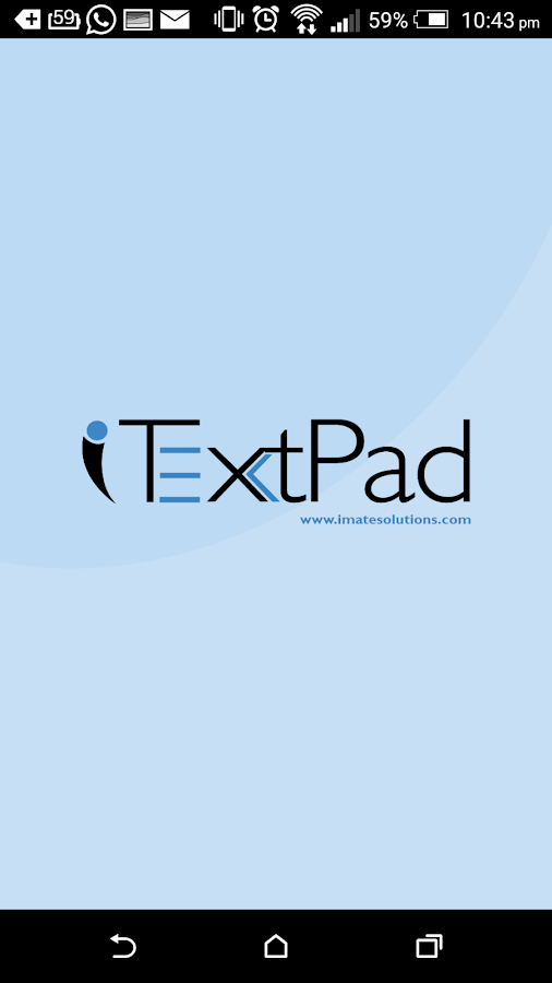 iTextPad Online Notepad Notes- screenshot