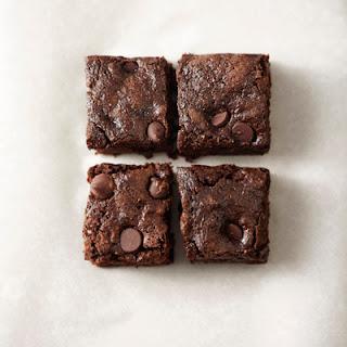 Whole-Wheat Dark Chocolate Zucchini Brownies.