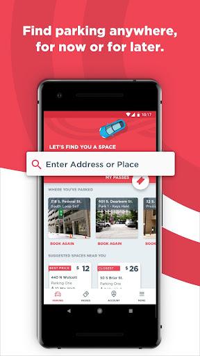 ParkWhiz- #1 Parking App screenshot