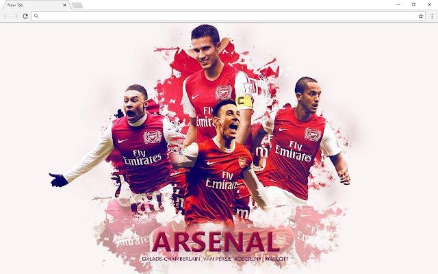 Arsenal Wallpapers New Tab