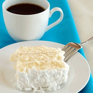 Weight Watchers Coconut Cake.