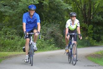 Photo: Biking at Grand Isle State Park by Beth & Brad Herder