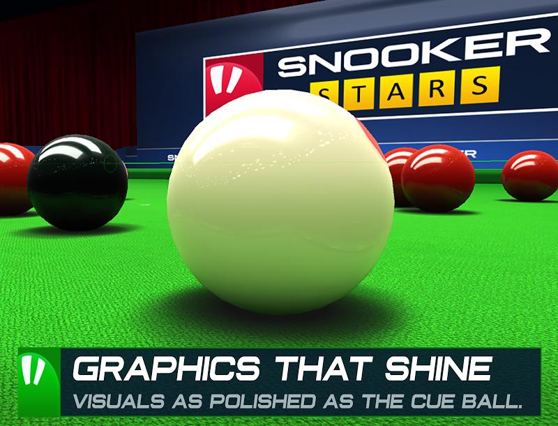Snooker Stars - 3D Online Sports Game Screenshot 14
