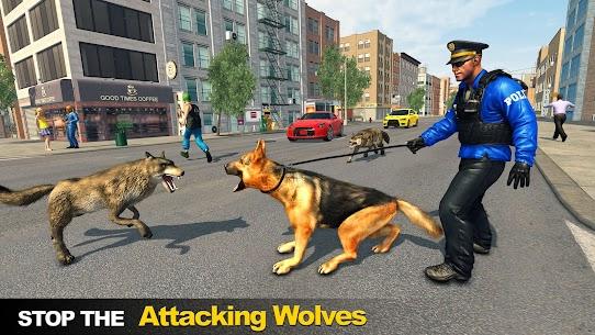 Police Dog vs Wild Wolves 1