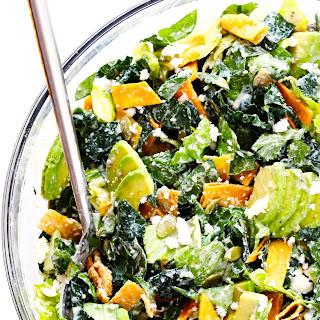 Mexican Caesar Salad.