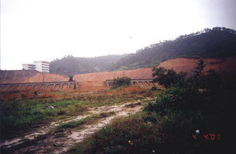 Photo: CHN-UR01  College campus site in China before protection with vetiver