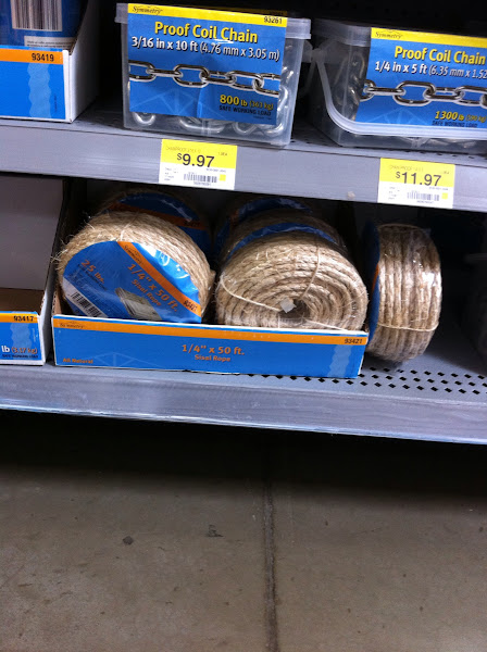 Photo: Browsing some more, I saw this sisal rope...I love using this for crafts.