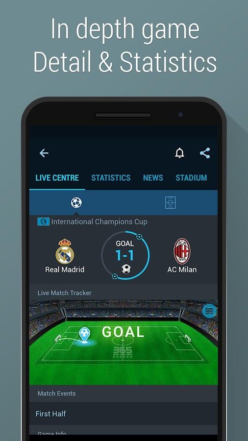 Football Scores - 365Scores- screenshot