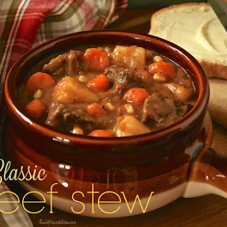 Thick and Hearty Classic Beef Stew
