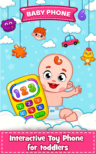 Baby Phone for toddlers - Numbers, Animals & Music  screenshots 1