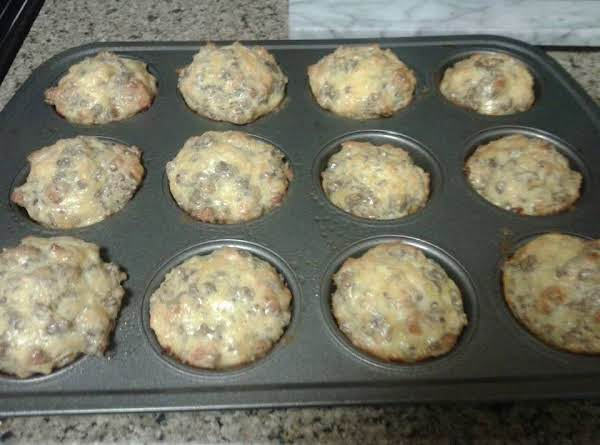 Sausage Breakfast Muffins Recipe