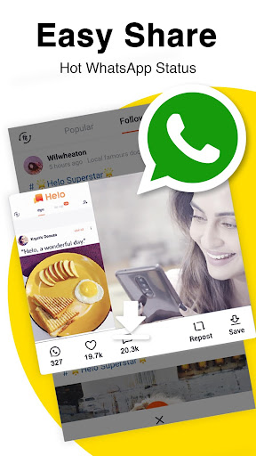 Helo - Discover, Share & Communicate screenshot 7