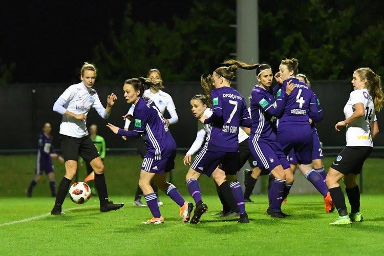 Vrouwen Anderlecht en Genk delen de punten na intense tweede helft