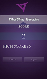 Maths Brain- screenshot thumbnail