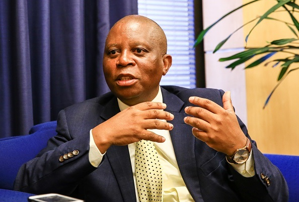 Johannesburg mayor Herman Mashaba .
