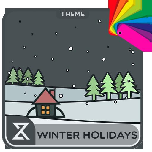 Winter holidays (Xperia Theme)