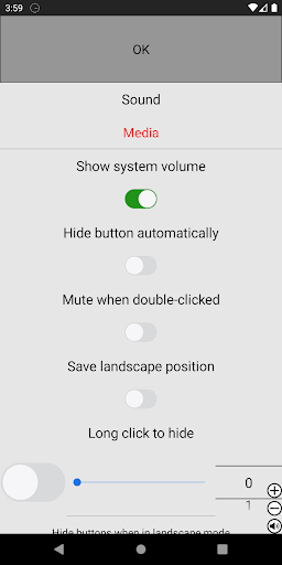 Always visible volume button screenshots 2