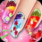 Royal Princess Nail Makeup Salon Game For Girl Aplicații Pe