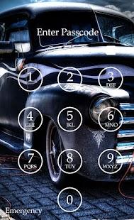 Car Keypad Screen Lock Theme screenshot