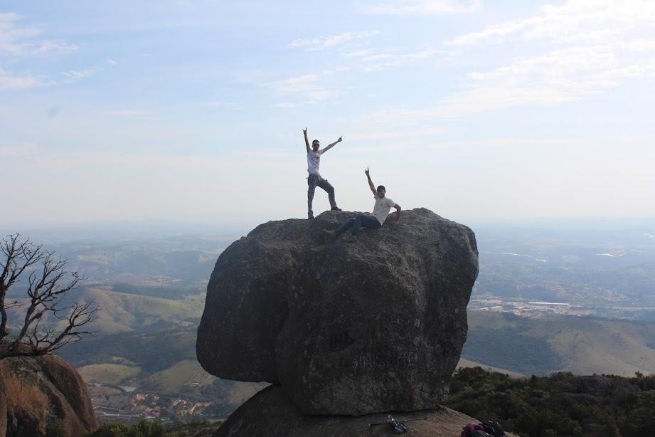 Pedra Grande, Atibaia, 1420m, Atibaia, São Paulo, Brasil. Phellipe Dias Aranha e Robert William Polli.