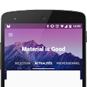 MaterialViewPager icon