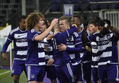 Tielemans, Praet et compagnie souhaitent bonne chance aux U19 Anderlechtois !