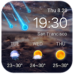 Best Galaxy Live Weather Widge 7.2.9.d_release Apk